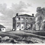 Union General Philip Sheridan followed Confederate General Jubal Early's retreat back across the Potomac River, and established his headquarters in Harpers Ferry, in what is now known as the Lockwood House, in early August 1864 (Frank Leslie's Illustrated Newspaper, September 3, 1864; J.E. Taylor, artist; courtesy of Princeton University Library)
