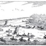 """Two days after Gettysburg, Union cavalry captured near Mercersburg, PA, over 700 Confederates and 200 wagons that were retreating from the battle (James H. Stevenson, Boots and Saddles."""" A History of the First Volunteer Cavalry of the War, Known as the First New York (Lincoln) Cavalry [Harrisburg, PA: Patriot Publishing Co., 1879], 209)"""