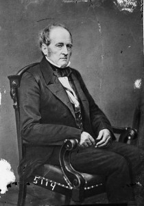 John Bell from Tennessee was  the candidate of the moderate Constitutional Union Party.   (Library of Congress)
