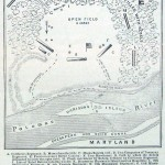 Map and Plan of the Battle of Ball's Heights, October 21 (Frank Leslie's Illustrated Newspaper, November 16, 1861; Courtesy of Princeton University Library)