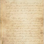 Emancipation Proclamation, page 1  (National Archives)