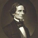 Jefferson Davis became President of the Confederate States of American on February 9, 1861 (National Portrait Gallery)