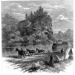 Union troops being towed along the Chesapeake and Ohio Canal to join General Banks' command (The New York Illustrated Newspaper, November 11, 1861; courtesy of Princeton University Library)