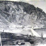 Confederate artillery batteries on the heights above Harpers Ferry (The New-York Illustrated News, June 1, 1861; courtesy of Princeton University Library)