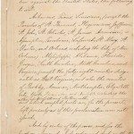 Emancipation Proclamation, page 3  (National Archives)