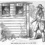 How Virginia Was Voted Out of the Union, Harpers Weekly, June 15, 1861 (National Park Service)