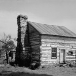 Slave quarters in southern Frederick County, photographed in 1936 (HABS/HAER, Library of Congress)