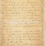 Emancipation Proclamation, page 4  (National Archives)