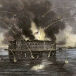 Bombardment of Fort Sumter, Charleston Harbor, on April 12, 1861 (Currier and Ives, 1861; Library of Congress)