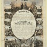 Emancipation Proclamation print, L. Lipman, Milwaukee, Wis., February 1864 (Library of Congress)