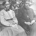 Rev. Benjamin Tucker Tanner and his wife, Sarah; Tanner was a pastor at Quinn Chapel AME Church in Frederick in the last year of the war, and later became the supervisor of Freedmens Bureau schools in Frederick County (Marcia M. Matthews, Henry Ossawa Tanner: American Artist, 1995)