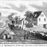 The Union Army established a depot for military supplies in Hagerstown after the Battle of Antietam (Theodore R. Davis, artist; Harper's Weekly, October 18, 1862; courtesy of Timothy R. Snyder)