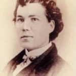 Sarah Emma Edmonds, a Canadian native and Union spy, disguised as Franklin Thompson, one of her many alter-egos used to infiltrate Confederate camps. (National Archives)