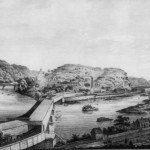 Harpers Ferry as it looked before the war (National Park Service)