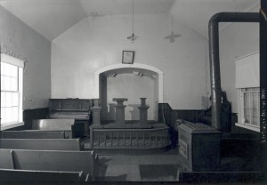 The interior of Tolson's Chapel in 2003  (James W. Rosenthal, HABS/HAER/HALS, National Park Service; image housed in Library of Congress, Prints and Photographs Division)