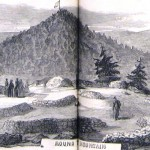 Visitors to the ceremony visited landmarks of the battlefield (Joseph Becker, artist; Frank Leslie's Illustrated Newspaper, December 5, 1863; courtesy of Princeton University Library)