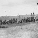 """Captain J.M. Knap's Pennsylvania Independent Battery """"E"""" Light Artillery, after the Battle of Antietam (Alexander Gardner, photographer, September 1862; Library of Congress)"""