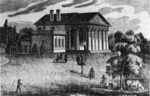Lee's home in Arlington, Virginia  (National Park Service)