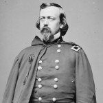 Union General Charles P. Stone, the commander in charge of the Union forces along the Potomac River from Point of Rocks to Seneca Creek during the summer and fall of 1861 (Library of Congress)
