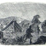 Part of Union General Nathaniel Bank's encampment on Loudoun Heights, near Harpers Ferry (Frank Leslie's Illustrated News, November 8, 1862; courtesy of Princeton University Library)