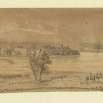 Original sketch of the previous image (July-August 1863, Alfred R. Waud, artist; Library of Congress)