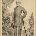 Confederate General Robert E. Lee (Vic Arnold, artist, c.1882; Library of Congress)