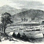 Waud's previous sketch as it appeared in the Harper's Weekly issue of October 25, 1862 (Alfred R. Waud, Harper's Weekly, October 25, 1862; NPS Historical Collection)