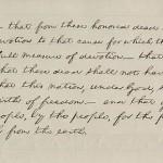 Gettysburg Address, page 2 (Cornell University)