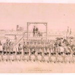 The execution of John Brown (Courtesy of West Virginia and Regional History Collection, West Virginia University Libraries)