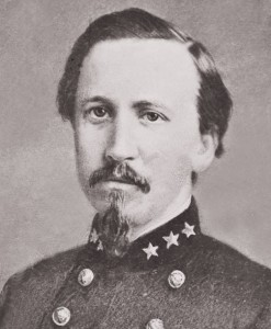 """Bradley Tyler Johnson, a Frederick resident before the war, joined the Confederacy and became a general in the Southern army  (from the """"House Divided"""" website at Dickinson College, http://hd.housedivided.dickinson.edu/node/12229)"""