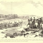 Review by Union General Nathaniel Banks of part of his division, near Sandy Hook, MD (Louis Shepheard Moat, ed., Frank Leslies Illustrated History of the Civil War [NY: Mrs. Frank Leslie, 1895], 93; originally appeared in Frank Leslie's Illustrated Newspaper, September 14, 1861)