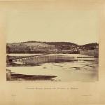 Pontoon bridge across the Potomac at Berlin (Alexander Gardner, photographer, November 1862; Library of Congress)