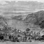 Harpers Ferry after the departure of Confederate troops (Harper's Weekly, July 6, 1861; courtesy of Timothy R. Snyder)