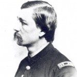 Captain Charles Corbit, the young Quaker who led the charge of the 1st Delaware Cavalry at Westminster (Courtesy of Delaware Public Archives)