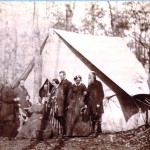 U.S. Sanitary Commission members at Gettysburg (Gettysburg National Military Park)