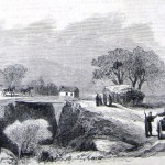 Union soldiers examining passes on the road from Knoxville, Maryland, to Harpers Ferry (The New-York Illustrated News, November 15, 1862; courtesy of Princeton University Library)