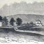 Earthworks on Camp Hill (L. M. Hamilton, artist; The New-York Illustrated News, October 25, 1862; courtesy of Princeton University Library)