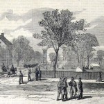 The center of Leesburg, Virginia, occupied by Federal forces (The New-York Illustrated News, November 29, 1862; courtesy of Princeton University Library)