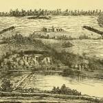 """Battle-Field of Shepherdstown,"" from John L. Smith, compiler, History of the Corn Exchange Regiment (Philadelphia: J.L. Smith, 1888), 83"