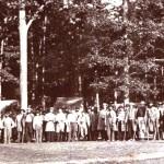 A Confederate convalescents camp near Gettysburg (U.S. Army Military History Institute)