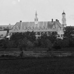 Saint Joseph's College in Emmitsburg (1863, Timothy H. O'Sullivan, photographer; Library of Congress)
