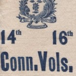 Ribbon marking the 1894 excursion of Connecticut veterans to Antietam, Gettysburg, and other local battlefields (Courtesy of Tad Sattler)