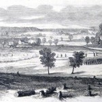 The Union lines on Jackson's Hill, near Harpers Ferry (Frank Leslie's Illustrated Newspaper, September 17,1864; J.E. Taylor, artist; courtesy of Princeton University Library)
