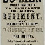 Union Army Recruitment Poster (Library of Congress)