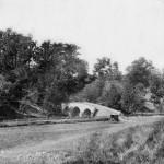 Burnside Bridge looking toward the west bank (September 1862, Alexander Gardner, photographer; Library of Congress)