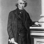 Roger B. Taney, Chief Justice of the United States Supreme Court, authored the majority opinion in the Dred Scott case in 1857; he had spent his early career in Frederick, MD, and was buried there following his death in 1864 (Library of Congress)