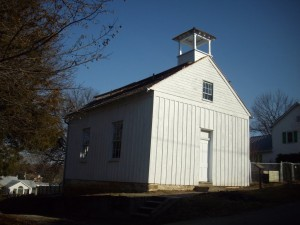 Tolson's Chapel was erected after the war as a place of worship for the African American community in Sharpsburg, Maryland, and the church also served as a Freedmen's Bureau school from 1868 – 1870  (Edie Wallace)