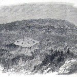 Union battery on Maryland Heights (L. M. Hamilton, artist; The New-York Illustrated News, October 11, 1862; courtesy of Princeton University Library)