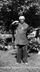 Simon Murdock, from Carroll County, who fought with the 4th USCT  (Historical Society of Carroll County)