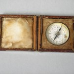 Compass used by Dr. William B. Wheeler, a Marylander from Boonsboro who served as an Assistant Surgeon in the 8th Maryland Infantry (Antietam National Battlefield)
